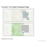 True Spirit 11x8.5 Digital Predesigned Pages