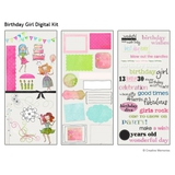 Birthday Girl Digital Kit