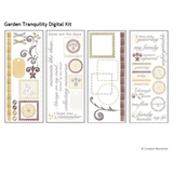 Garden Tranquility Digital Kit For Storybook Creator