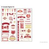 O' Canada Digital Kit