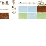 Discover Baby Boy Arrival Digital Additions