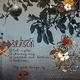 Autumn Addiction Colorwash Papers