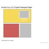 Bundle Of Joy 12x12 Digital Predesigned Pages