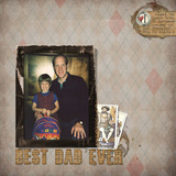 Best Dad Page Pak