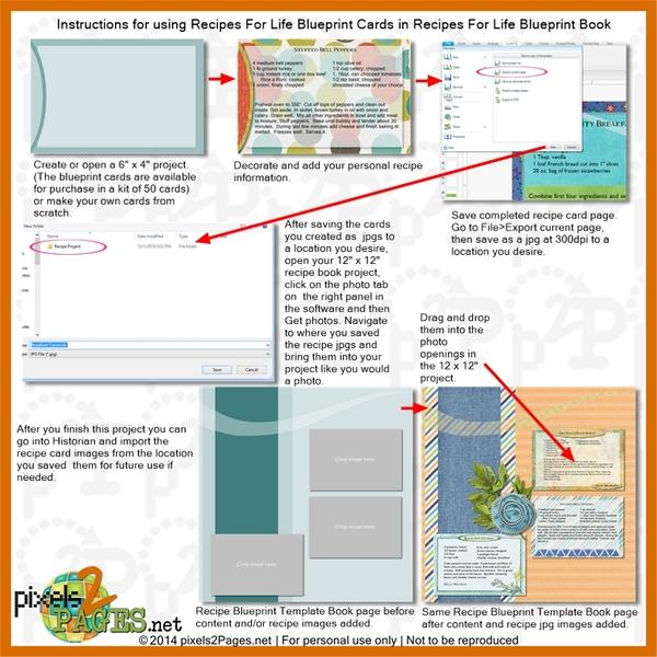 12x12 recipes for life blueprint book digital art 12x12 recipes for life blueprint book malvernweather Images