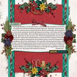Home For Christmas Embossed Papers