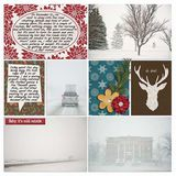 Christmas In The Country - Journal Cards