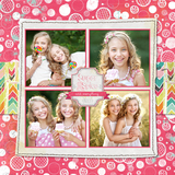 Sweet Valentine Pre-designed Pages