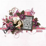 Be Mine, Valentine Overlays