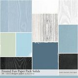 Frosted Fun Scrapbooking Kit