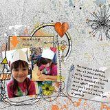 My Memories April Scrap Kit