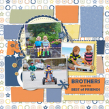 Brothers And Friends 1 Pre-designed Page