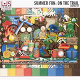 Summer Fun - On The Trail - Word Art