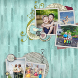 Take It Easy Family Pre-designed Pages