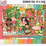 Summer Fun - At A Luau - Papers