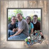 12x12 Father's Day 2016 Canvas