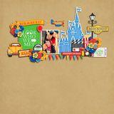 Summer Fun - At Walt's Place - Word Art