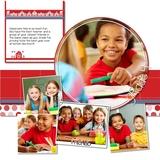 Word Frames School Years Elementary