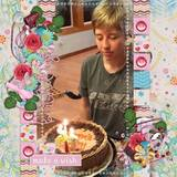 Birthday Girl Journal Cards
