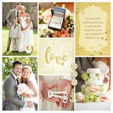 Wedding Day In Gold Card Kit 3