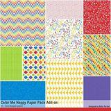 Color Me Happy Scrapbooking Collection