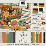 Pumpkin Spice Everything - Page Kit