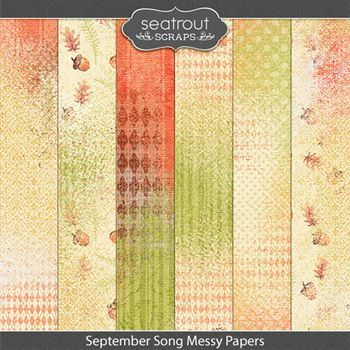 September Song Messy Papers