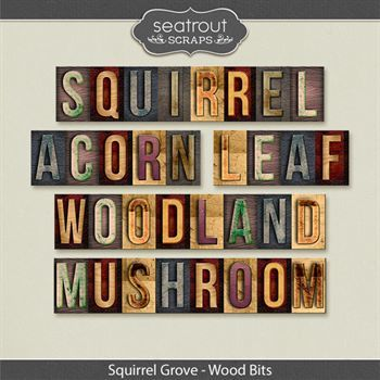 Squirrel Grove Word Blocks