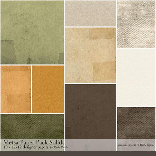 Metsa Solids Paper Pack
