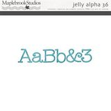 Jelly Alphabet No. 36