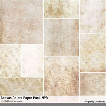 Canvas Colors Paper Pack No. 08