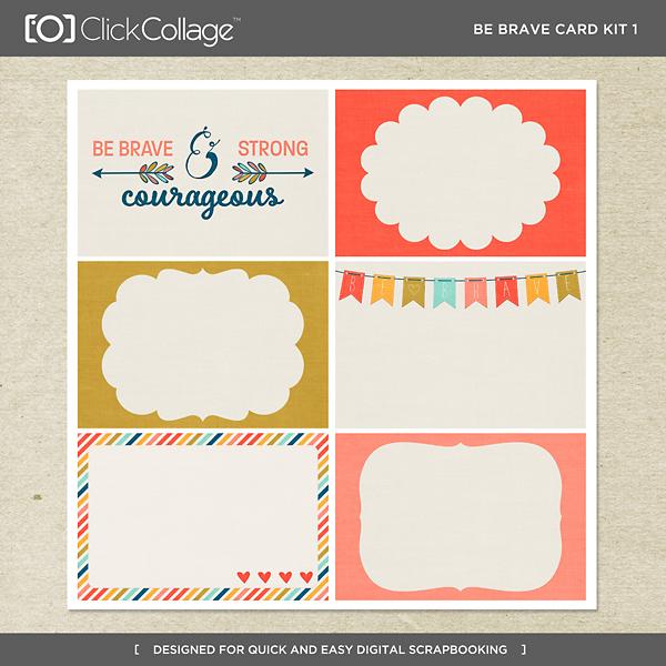 Be Brave Card Kit 1