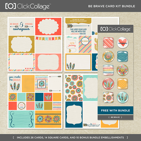 Be Brave Card Kit Bundle
