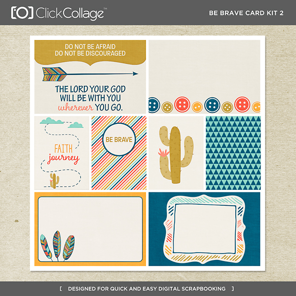 Be Brave Card Kit 2