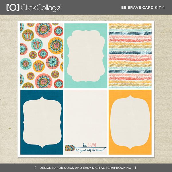 Be Brave Card Kit 4