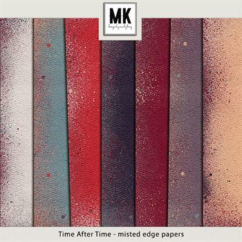 Time After Time - Misted Edge Papers