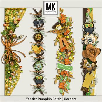 Yonder Pumpkin Patch - Borders