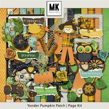 Yonder Pumpkin Patch - Page Kit
