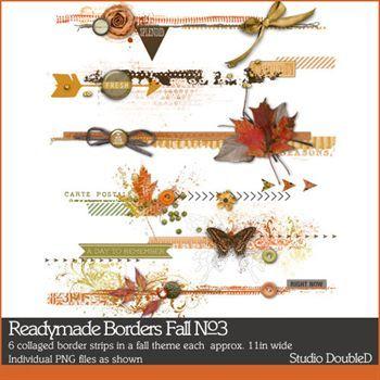 Readymade Borders Fall No. 03