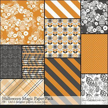 Halloween Magic Paper Pack