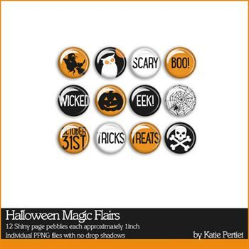 Halloween Magic Flairs