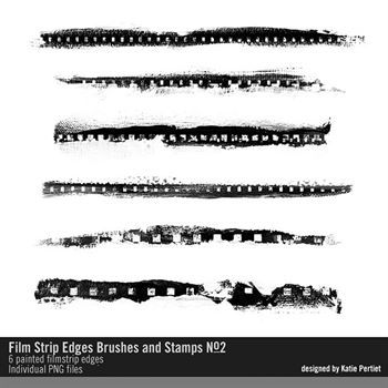 Filmstrip Edges Brushes And Stamps No. 02