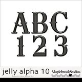 Jelly Alphabet No. 10