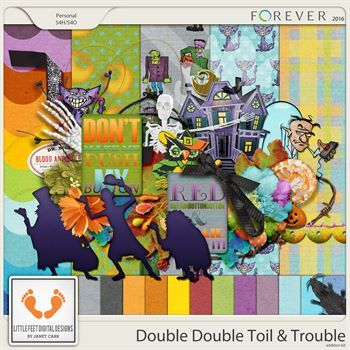 Double Double Toil And Trouble Addition Kit