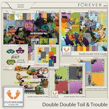 Double Double Toil And Trouble Bundle