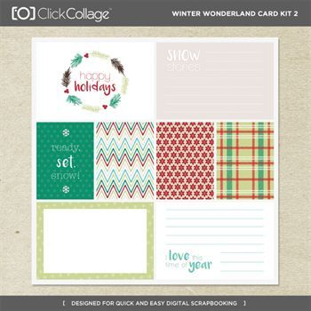 Winter Wonderland Card Kit 2