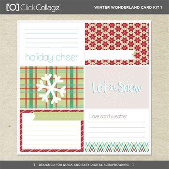 Winter Wonderland Card Kit 1