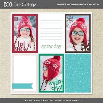 Winter Wonderland Card Kit 4