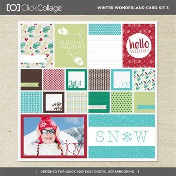 Winter Wonderland Card Kit 3