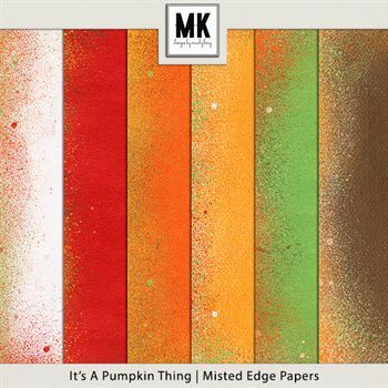 It's A Pumpkin Thing - Misted Edge Papers